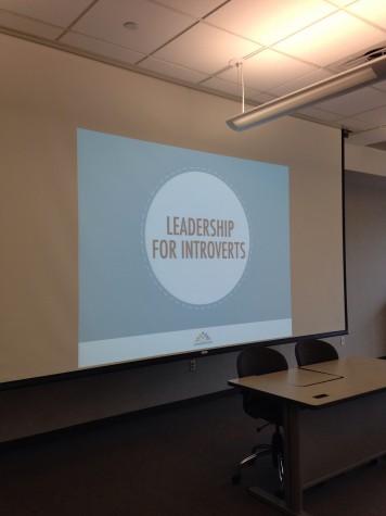 Workshop illustrates advantages, pitfalls of introverted leadership