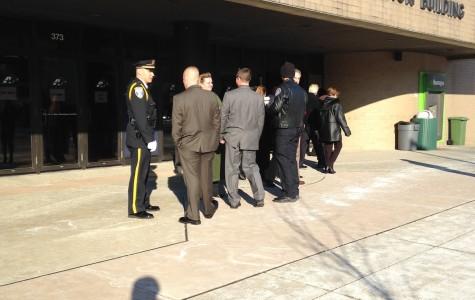 Memorial service held for fallen officer