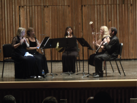"Faculty quintet ""Solaris"" performs at Guzzetta"