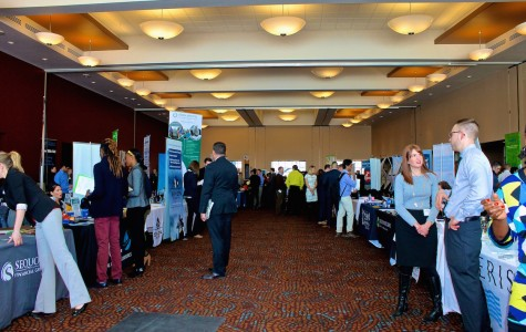 Students seek opportunities at spring Career Fair