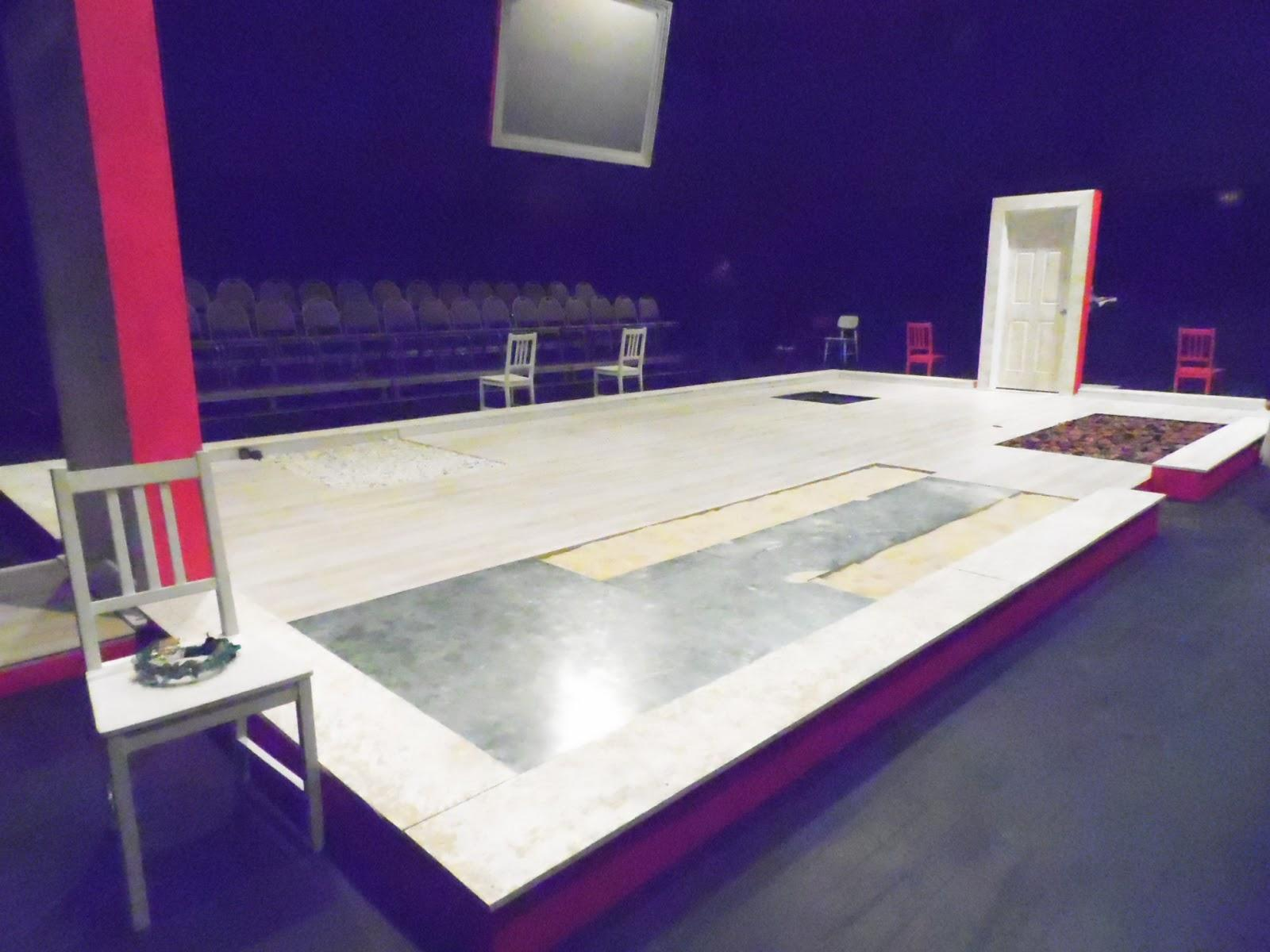 Stage design for the play Bloodwedding