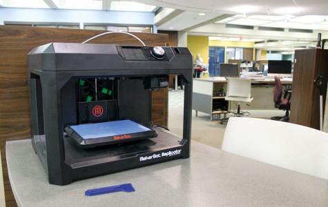 Bierce to renovate, promote 3D printer