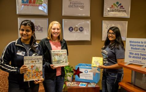 Book drive brightens students' lives
