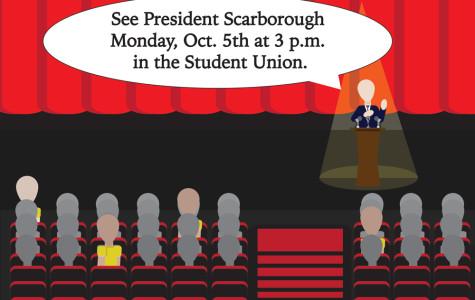 Scarborough to speak at USG Town Hall forum