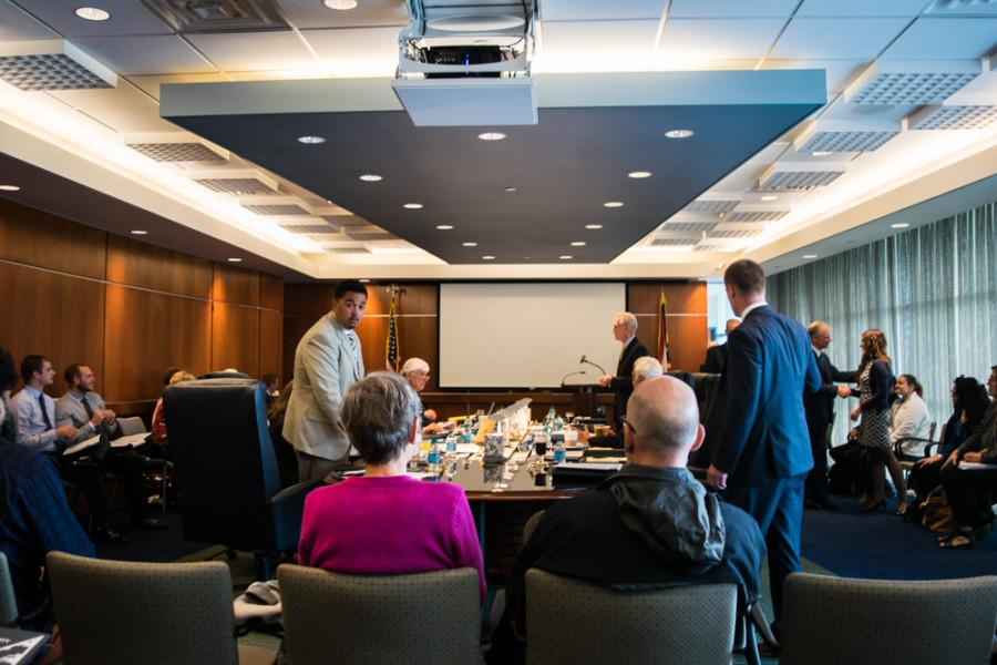 Board+of+Trustees+meeting+on+Oct.+14%2C+2015.+