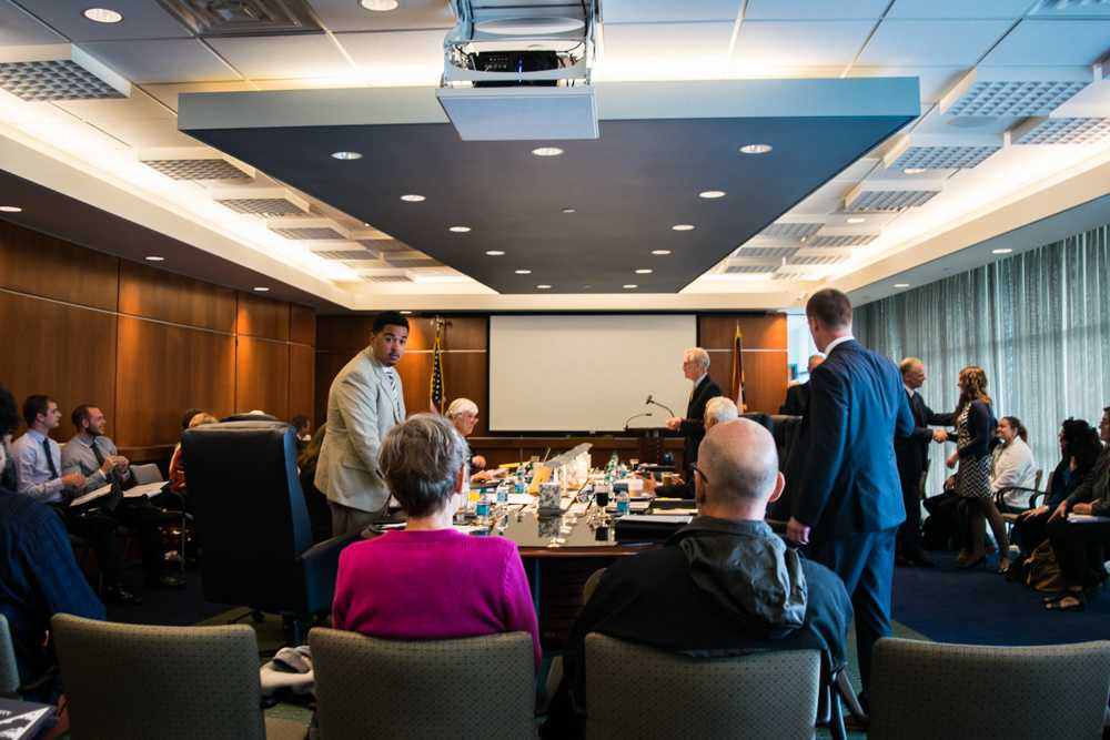 Board of Trustees meeting on Oct. 14, 2015.
