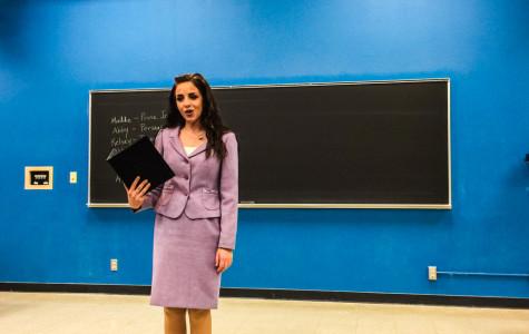 Speech team members showcase rhetorical skills