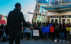 'F*ck racism,' they chanted