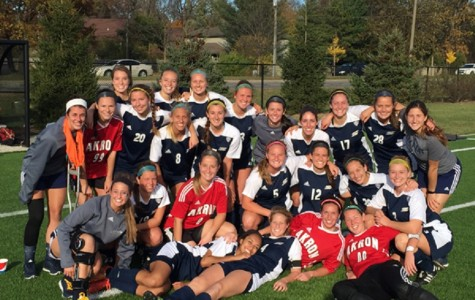 Women's soccer makes history