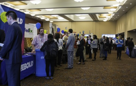 Career Services amid Career Fairs