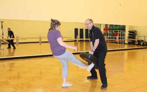 Women's self-defense class was a hit
