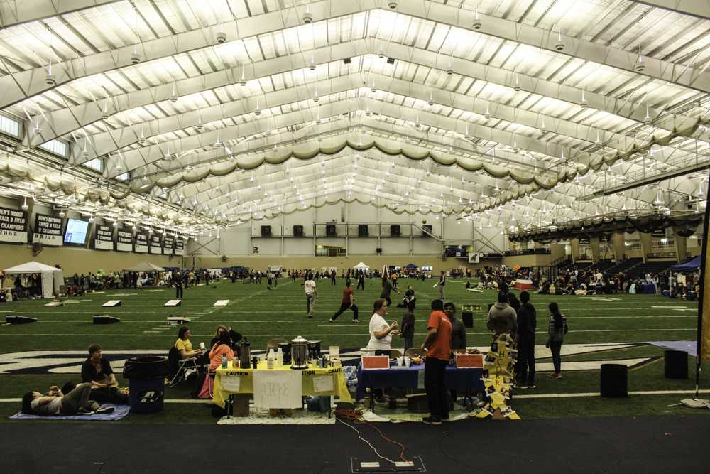 Relay for Life took place in the UA Field House last weekend.
