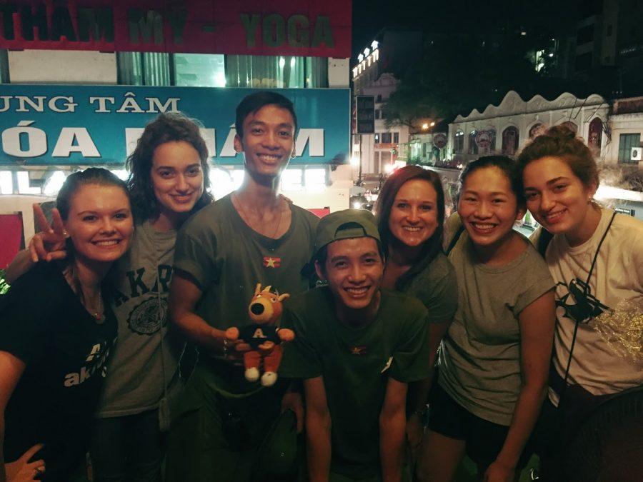 Akron students attend leadership symposium in Vietnam