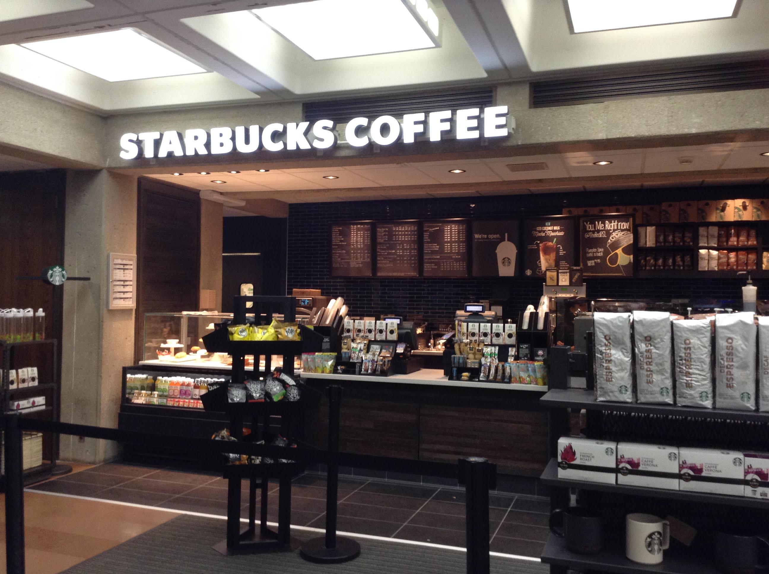 A new Starbucks is located in Bierce Library.