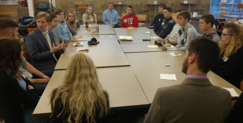 Students learn how to interact with employers