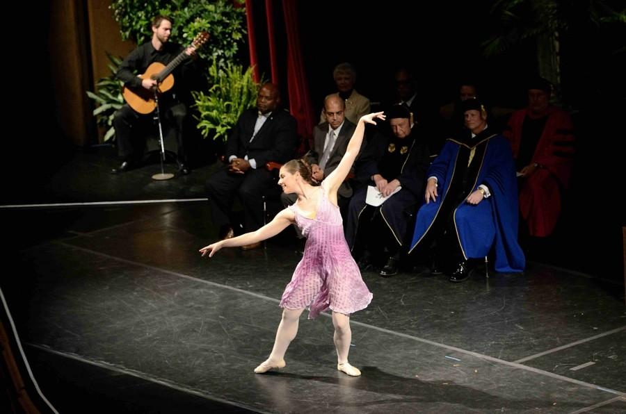 A special solo ballet performance.