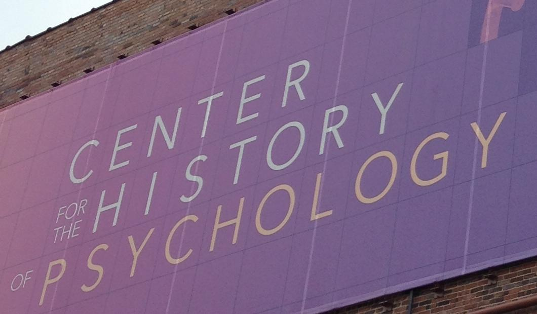 UA's Center for the History of Psychology has partnered with the National Library of Medicine.