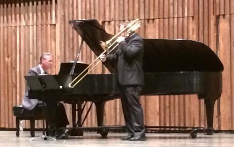 Eastman Trombonist visits UA