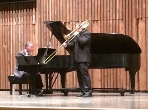 Mark Kellogg performing at Guzzetta Recital Hall