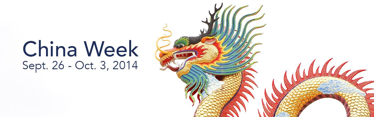 UA's annual China Week returns for a packed 2014 event.