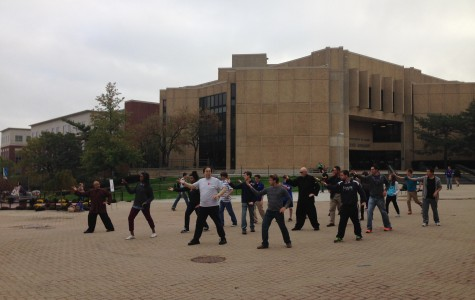 Morning Tai' Chi celebrates China Week