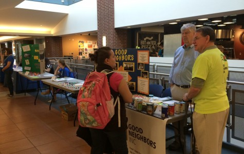 ServeAkron's Volunteer Fair gave students a chance to give back