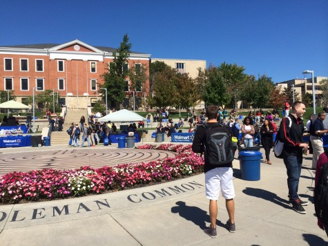 Wal-Mart comes to campus and brings opportunities
