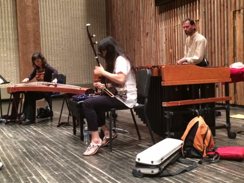 Orchid Ensemble holds workshop for China Week