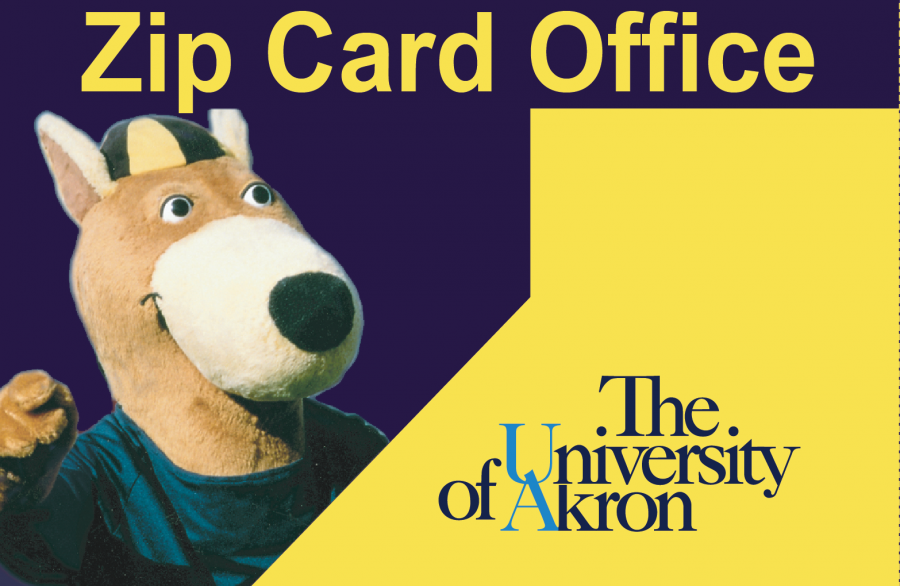 The University of Akron Student Zip Card