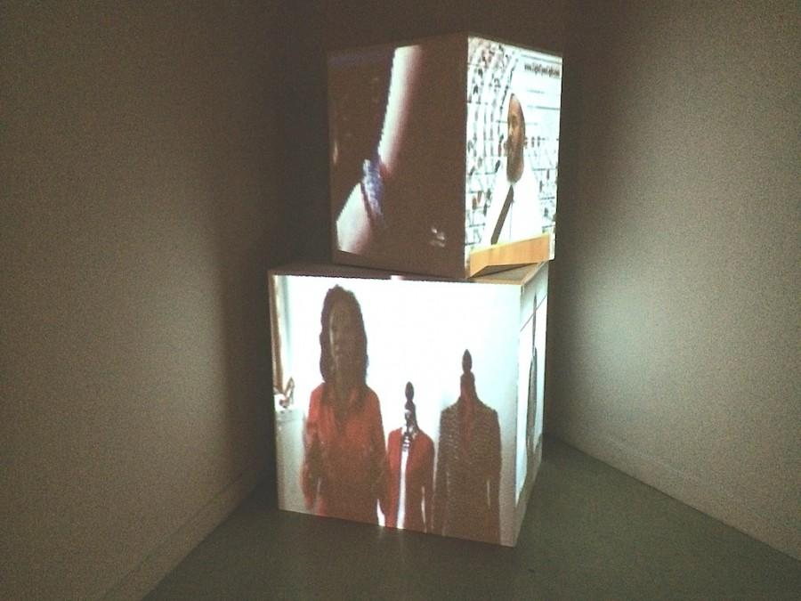 Michael Schwartz's 'projection mapping' installation
