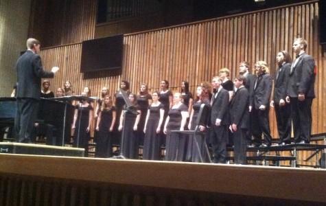 University Singers perform at Guzzetta
