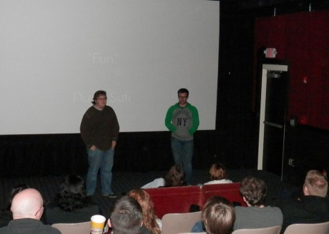 "President of 2380, Logan Metcalf and Anthony Crislip introduce the short film ""Fun"""