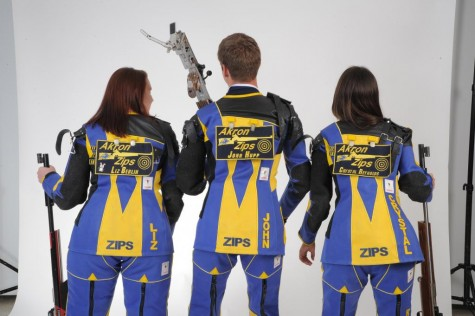 The Zips after shooting a round.