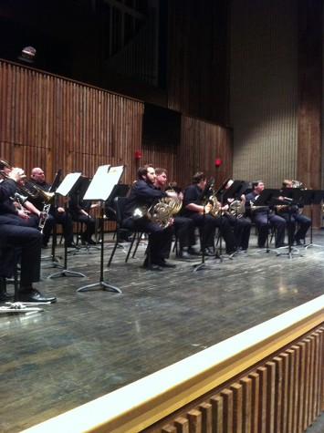 The University of Akron Brass choir ensemble performs Antonin Dvorak's