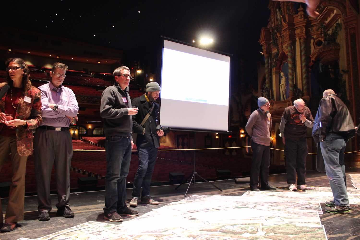 Akron residents gathered at Akron Civic Theater to give their input on the iTowpath project on Thursday, March 5.