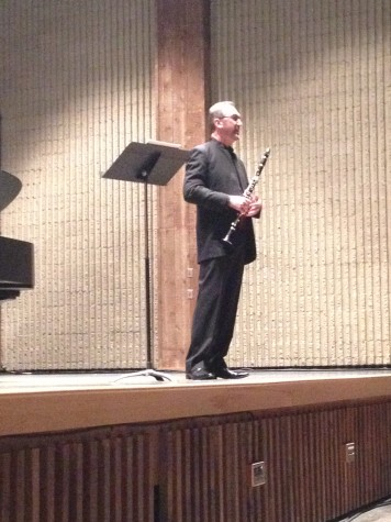 Principal clarinetist showcases talent at UA