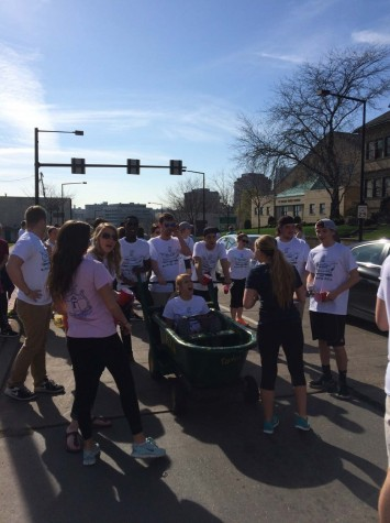 Lambda Chi Alpha pulls in donations for local philanthropy
