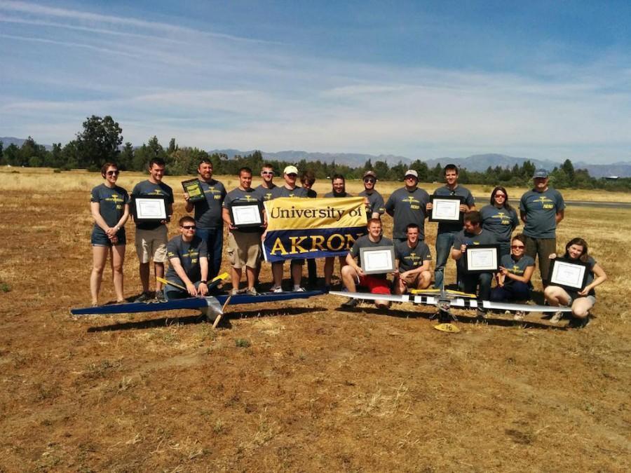 Seventeen Aero Team members traveled to California.