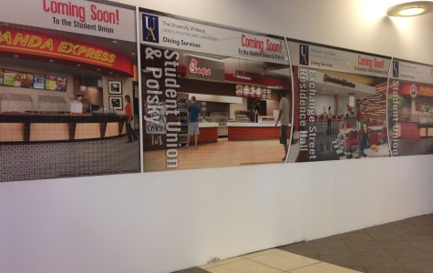 What's happening with Dining Services?