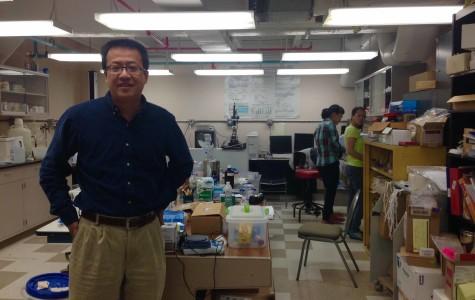Professor developing innovative treatment