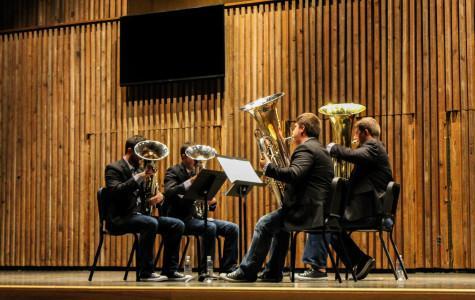 ATLAS Tuba and Euphonium Quartet performs at Guzzetta