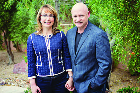 Giffords, Kelly inspire audience
