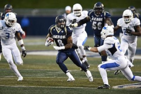 Zips football rolls over Buffalo, now bowl eligible