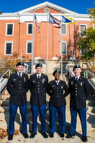 Veterans commemorated on campus