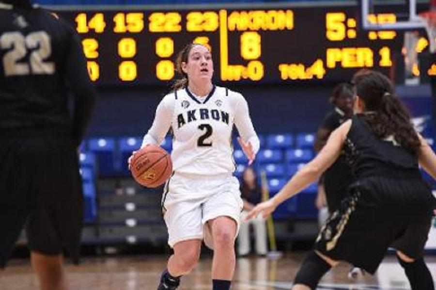 Megan Barilla had 10 points, 10 assists, and 10 rebounds for her triple-double.