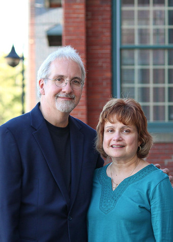 Mike and Janice Olszweski, authors of