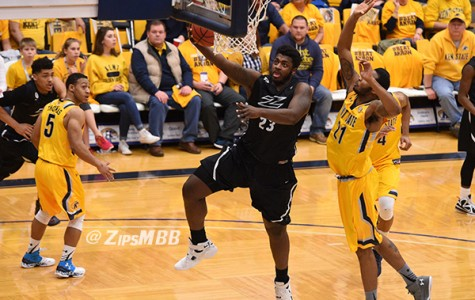 Zips fall to rival Kent State, 85-76