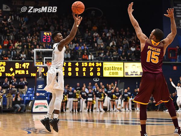 The Zips racked up their 20th win of the season Tuesday night.