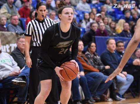 Despite their loss, Alex Ricketts lead the Zips with 12 rebounds Saturday afternoon.