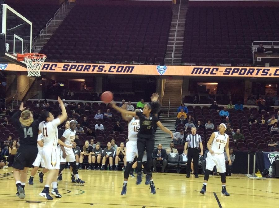 Anita Brown pours in 37 points in Akron's win over Toledo in MAC Tourney
